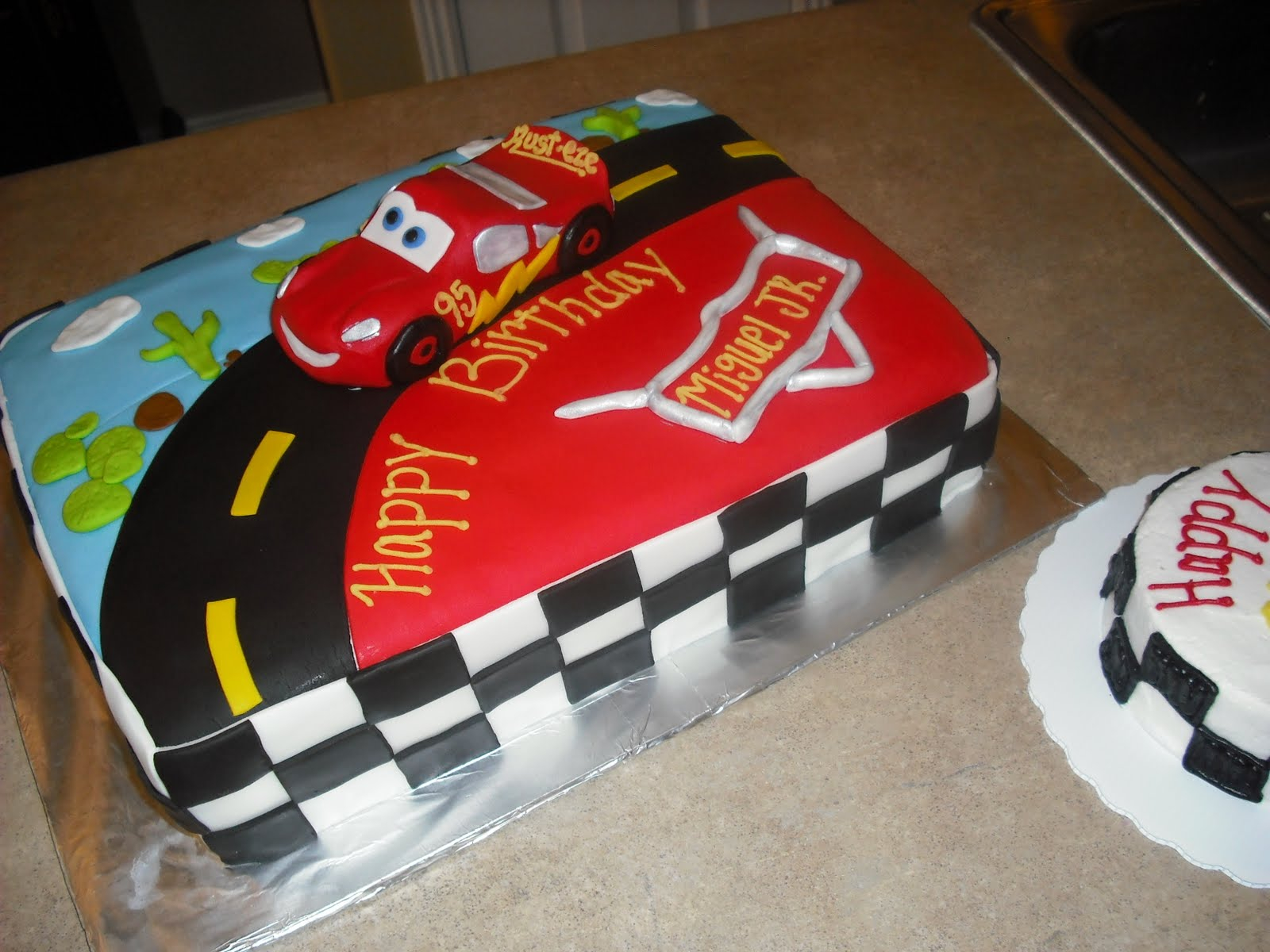 Disney Cars Birthday Cake 10 Simple Disney Car Cakes Photo Disney Cars Birthday Cake Disney