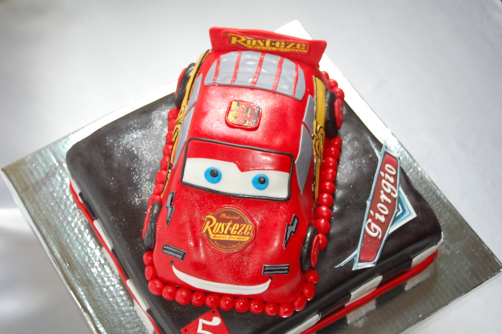 Disney Cars Birthday Cake Cars Birthday Cake For 1 Year Old Lulalisa