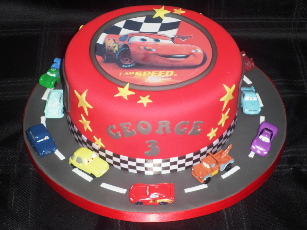 Disney Cars Birthday Cake Cars Birthday Cakes