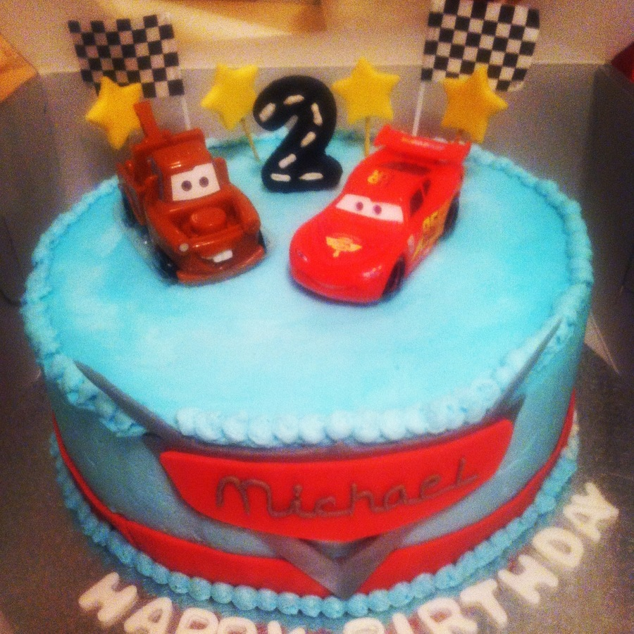 Disney Cars Birthday Cake Disney Cars Birthday Cake Cakecentral