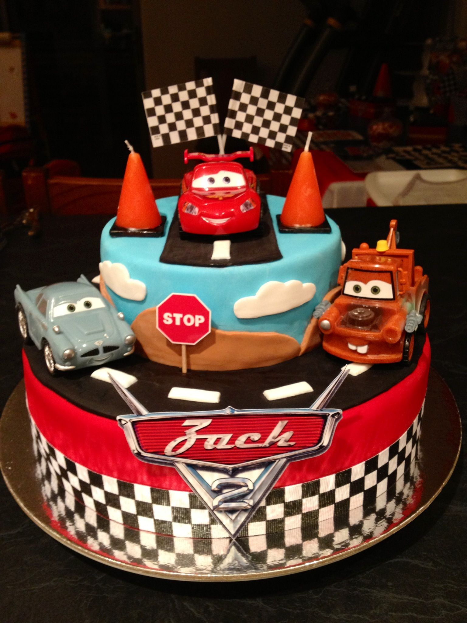23+ Exclusive Image of Disney Cars Birthday Cake
