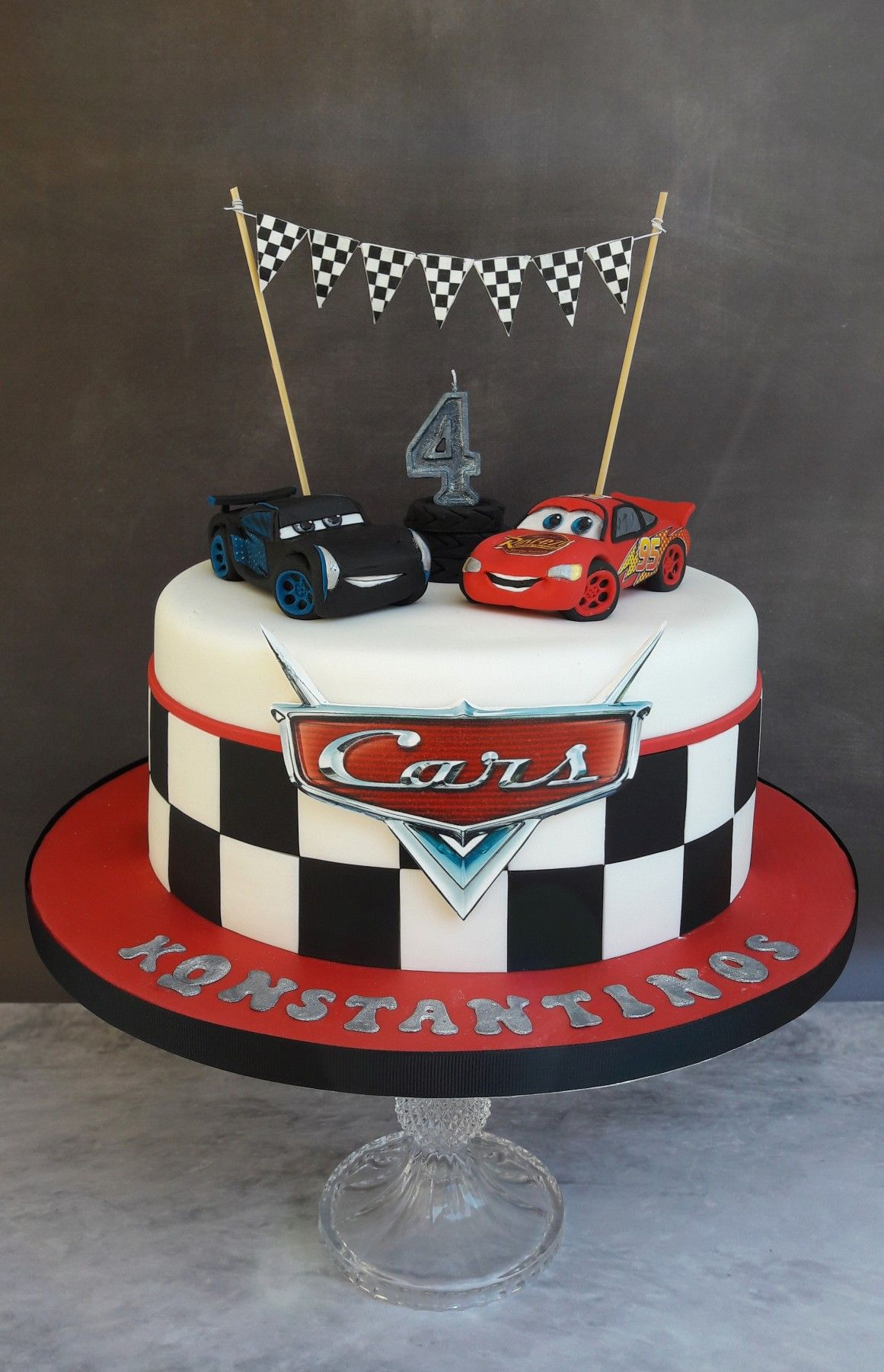 1161 X 1803 In 23 Exclusive Image Of Disney Cars Birthday Cake