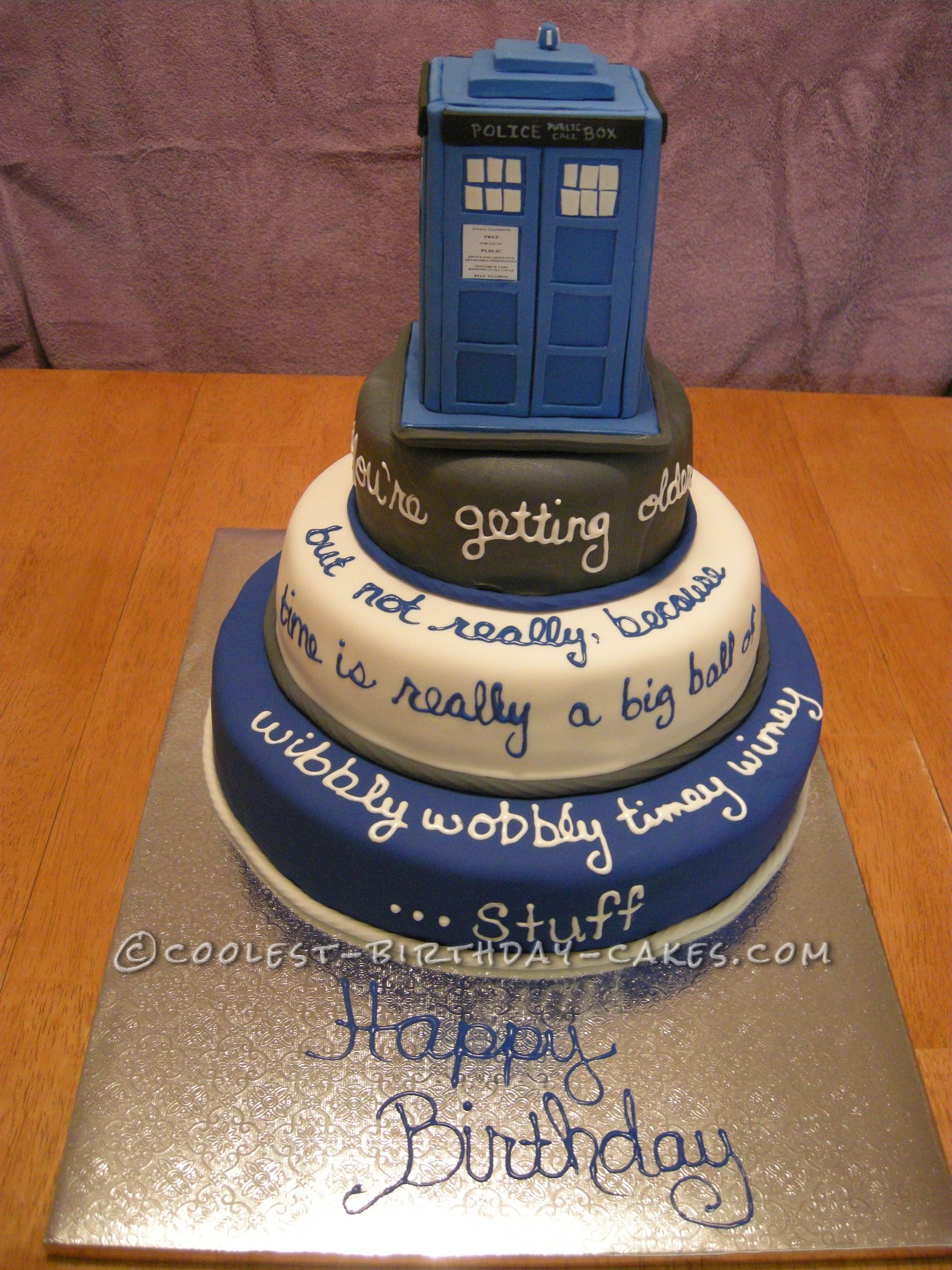 23+ Excellent Image of Doctor Who Birthday Cake