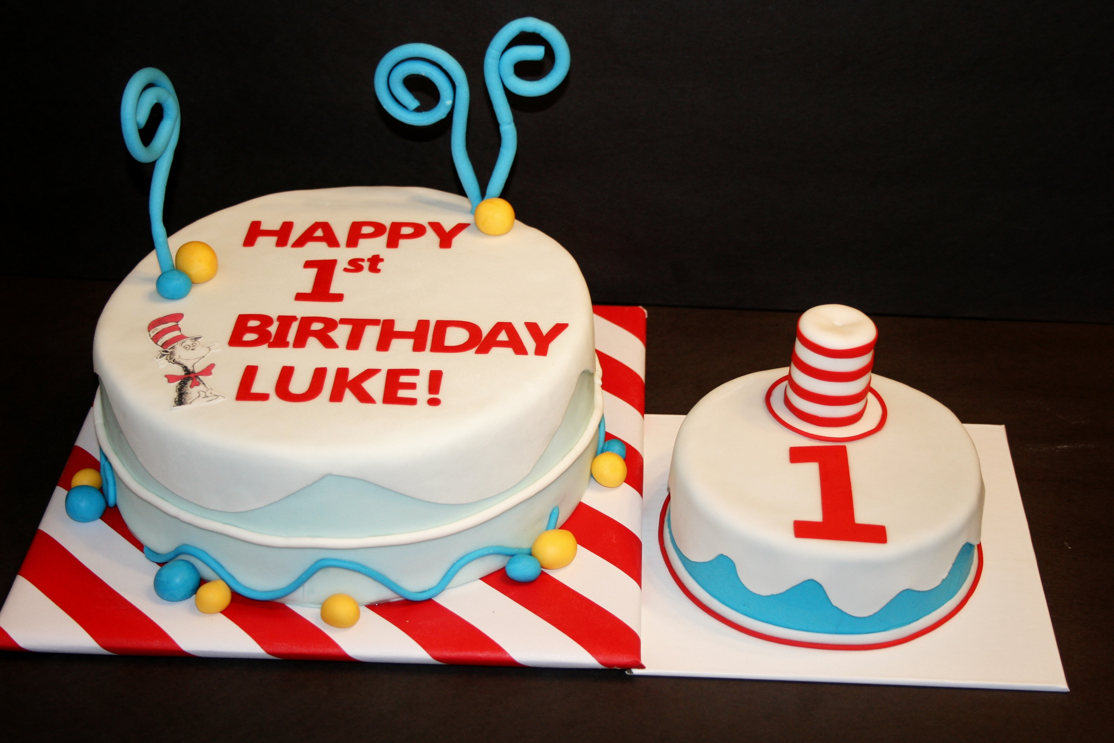 Doctor Who Birthday Cake Dr Seuss Birthday Cake Finding Joy