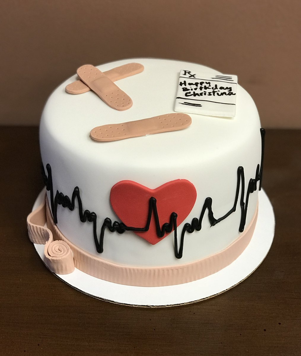 Doctor Who Birthday Cake Frostings On Twitter Check Out This Awesome Medical Cake Nurse