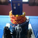 Doctor Who Birthday Cake Seven Deadly Sweets Our Cakes Throughout The Years Doctor Who