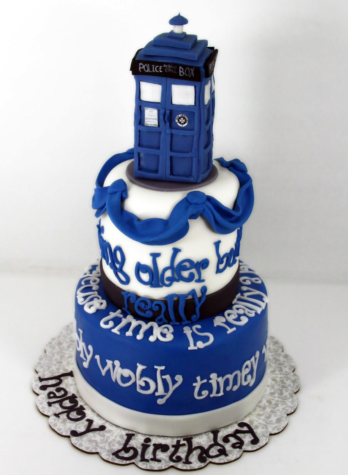 Doctor Who Birthday Cake Tastefully Done Dr Who Cake Recipes To Cook Pinterest Cake