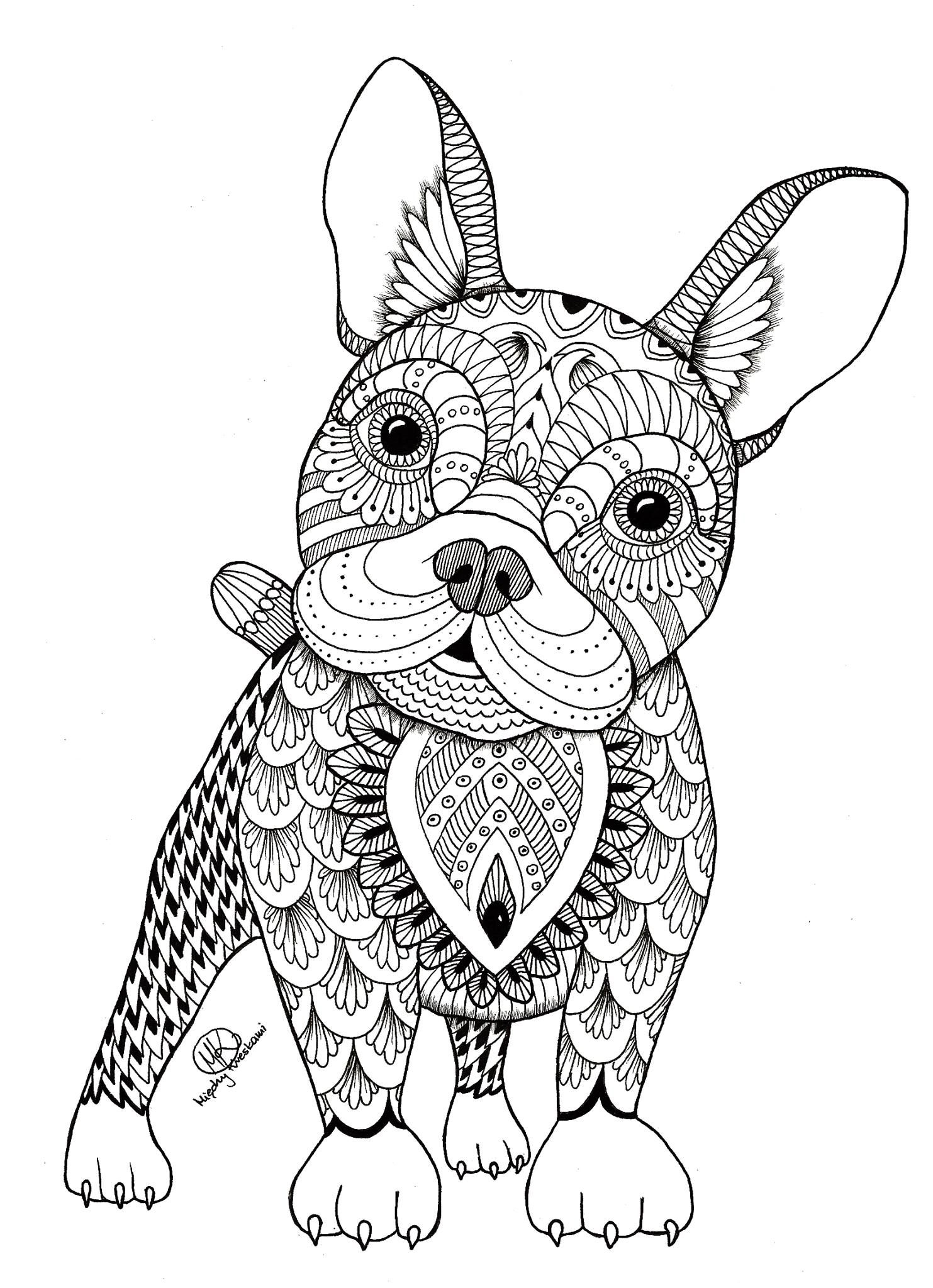 Dog Coloring Pages For Adults Dog Coloring Pages For Adults 43063 Francofest