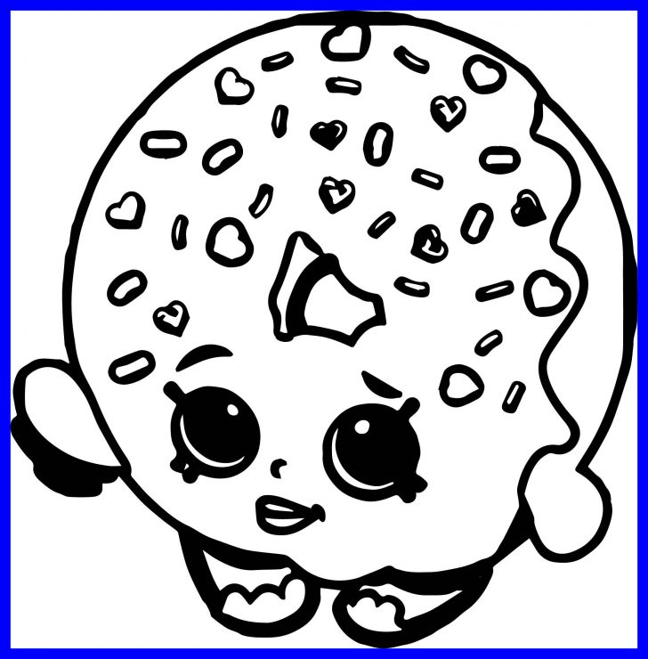 Donut Coloring Page Astonishing Shopkins Collections Rhentitlementtrap: Shopkins Doughnut Coloring Pages At Baymontmadison.com