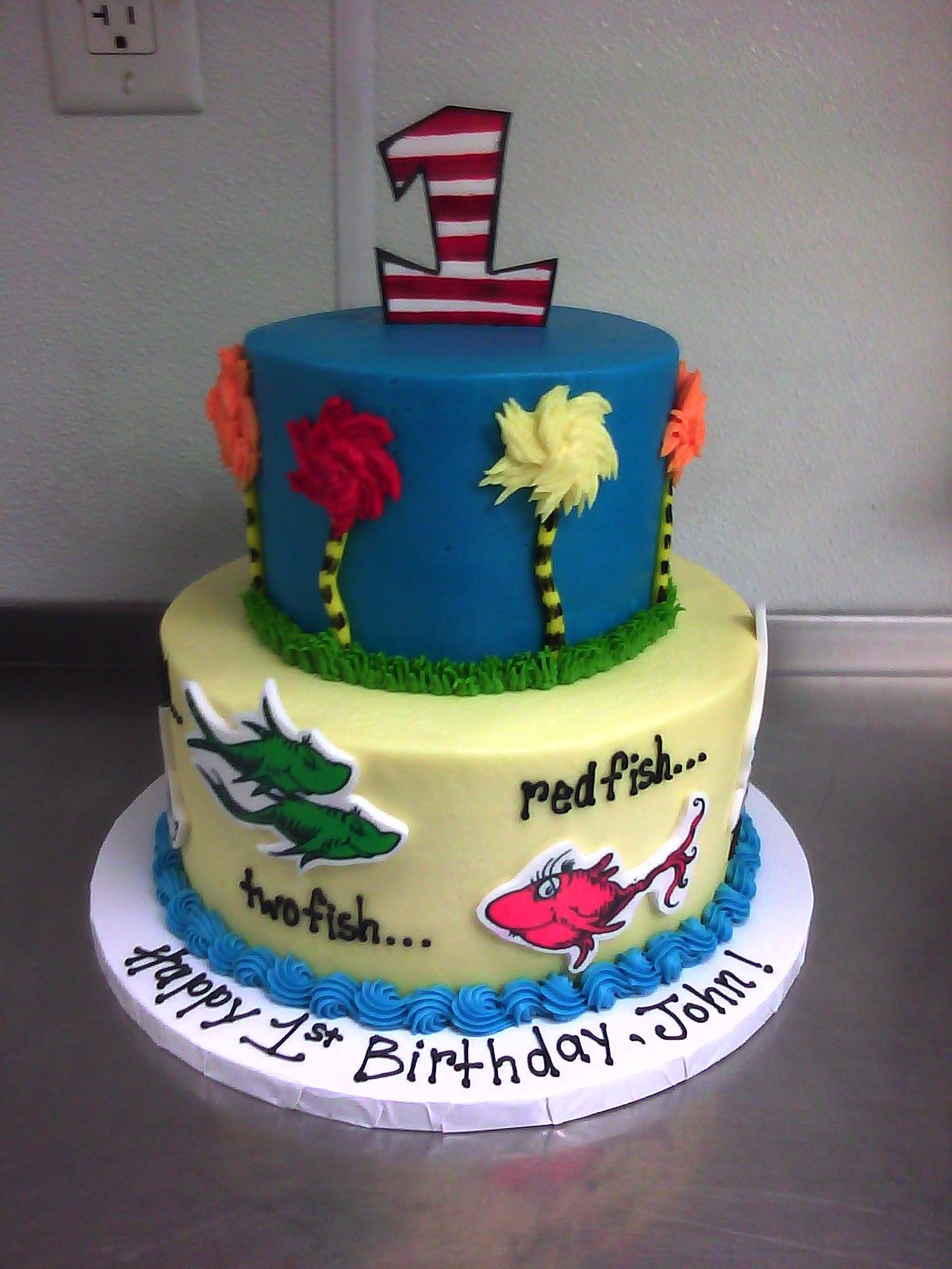 27+ Marvelous Image of Dr Seuss Birthday Cakes
