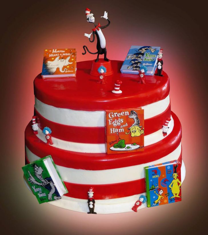 Dr Seuss Birthday Cakes Dr Seuss Cake Sweet Somethings Desserts