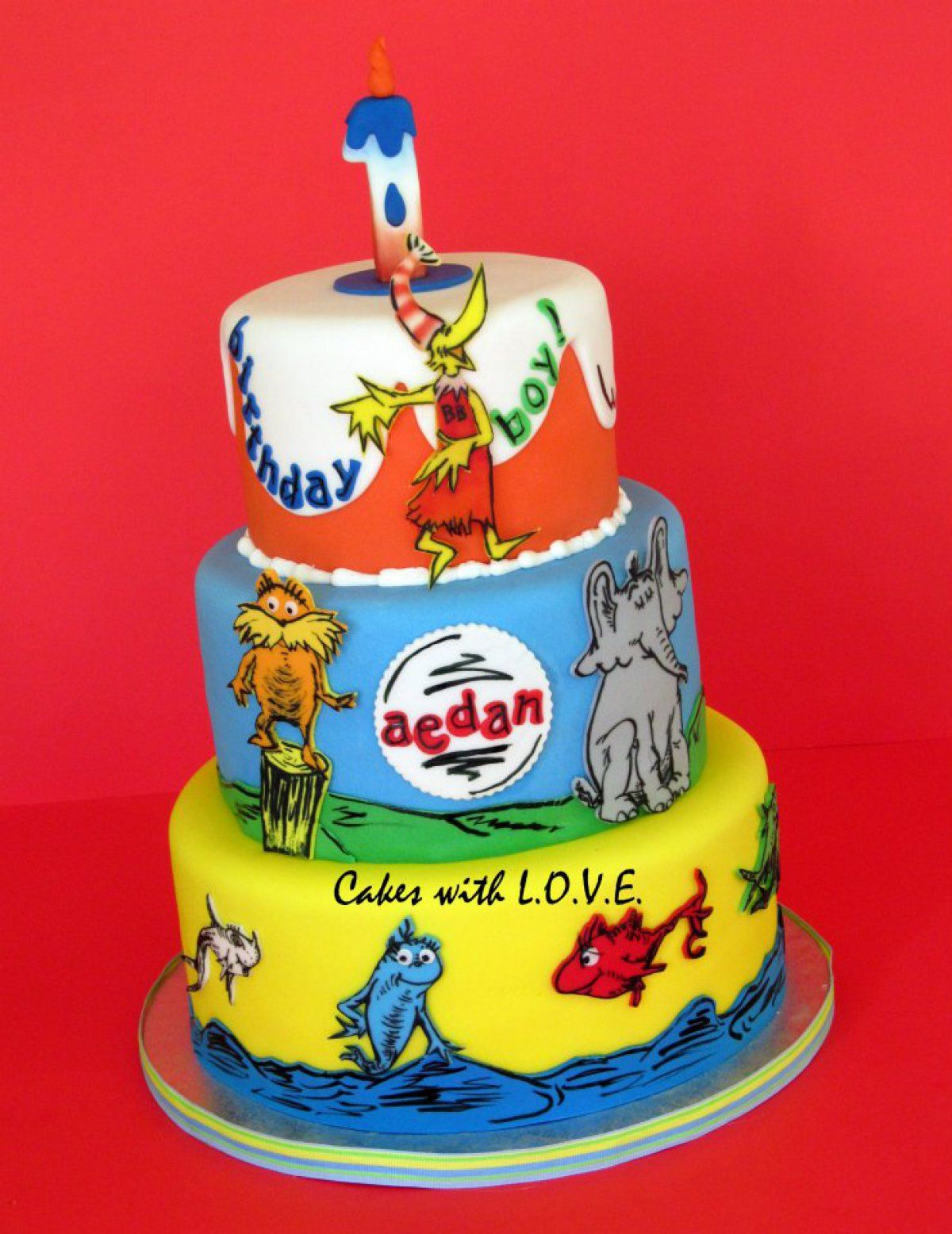Dr Seuss Birthday Cakes Southern Blue Celebrations Dr Seuss Cake Ideas Inspirations