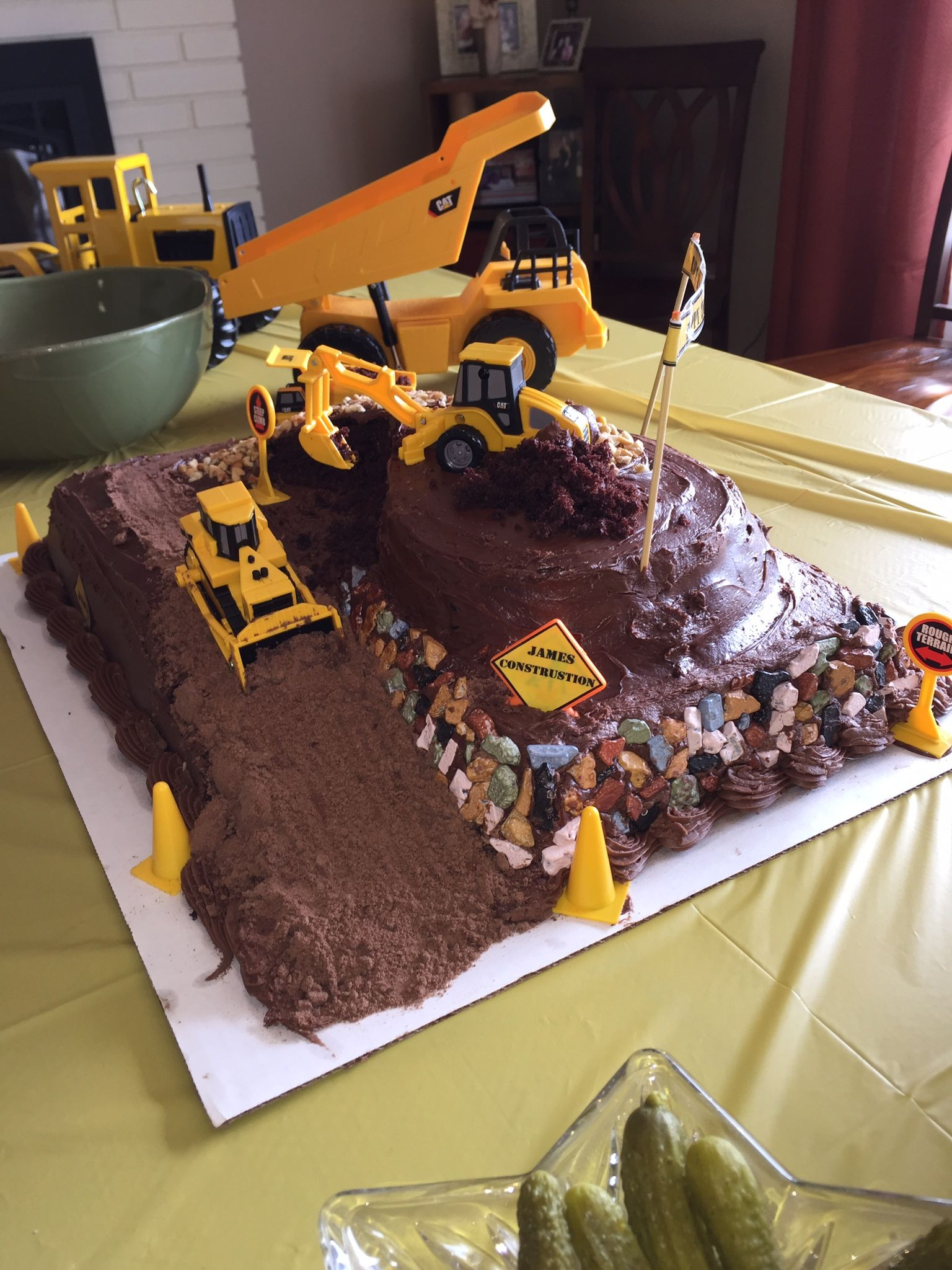 1536 X 2048 In 21 Excellent Picture Of Dump Truck Birthday Cake