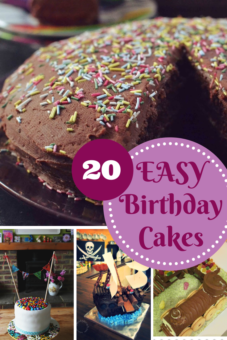 Easy Birthday Cake Easy Birthday Cake Recipes In The Playroom