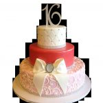Elegant Birthday Cakes Elegant Sweet 16 Birthday Cakes In Nyc