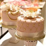 Elegant Birthday Cakes Vintage Pink Gold Pearls Elegant Cakes The Bake Life Cake Mini