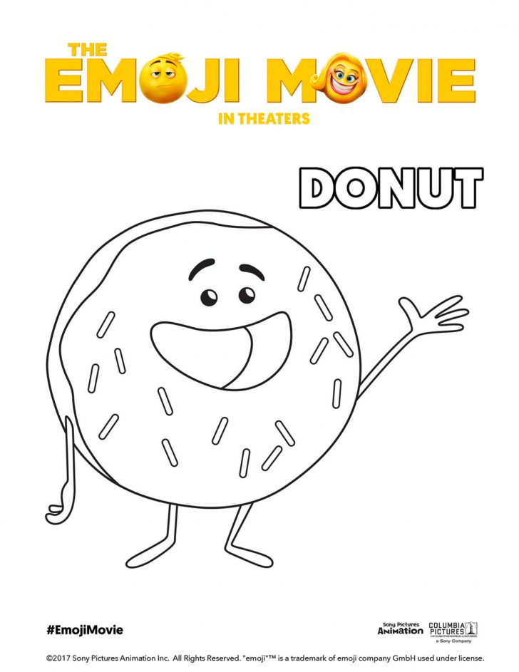 Emoji Movie Coloring Pages The Activity And Rhentitlementtrap: Colouring Pages Emoji Movie At Baymontmadison.com