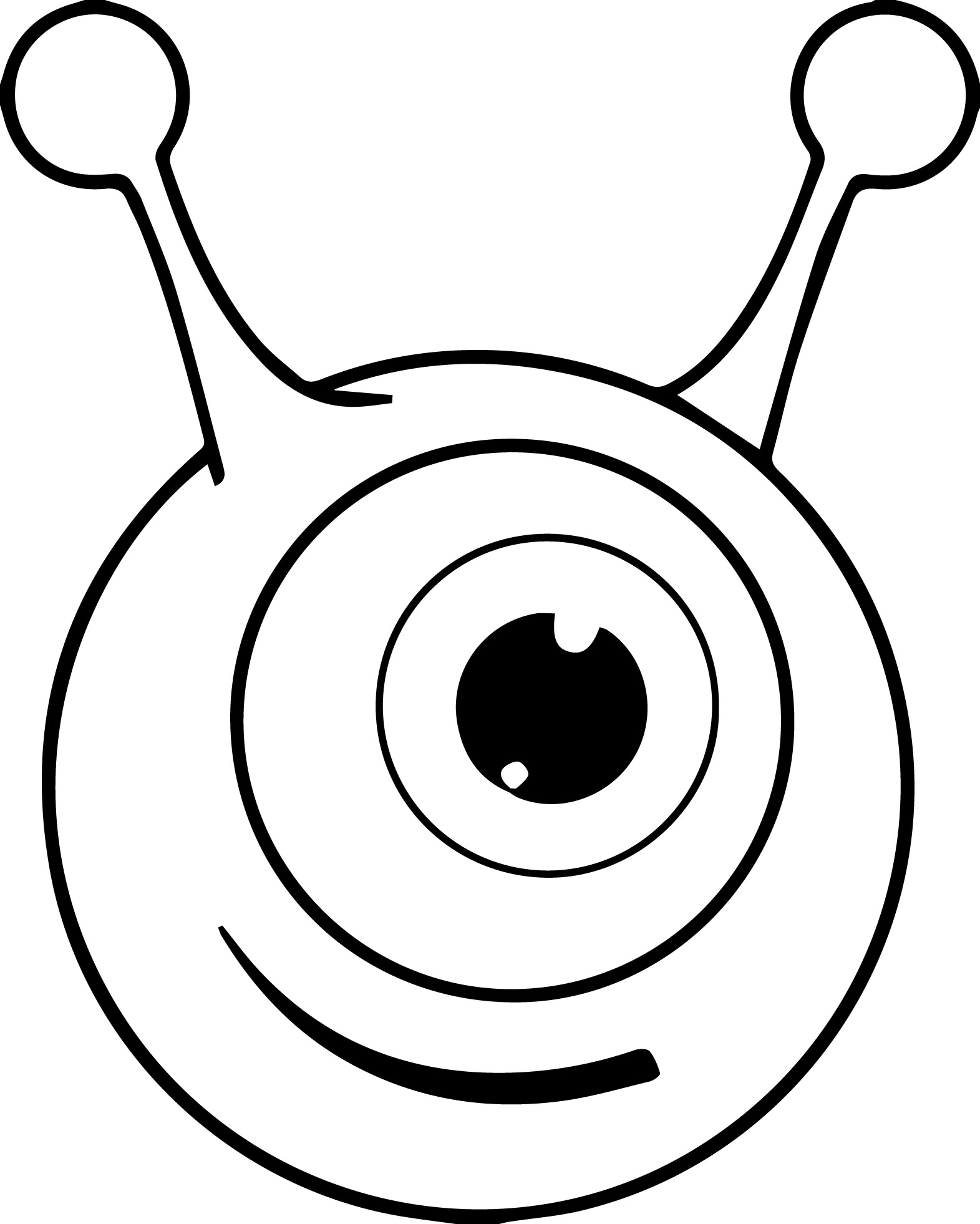 Eye Coloring Page Eye Coloring Page Free Download Best Eye Coloring Page On
