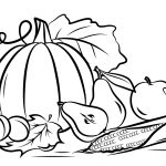 Fall Coloring Page Autumn Harvest Coloring Page Free Printable Coloring Pages