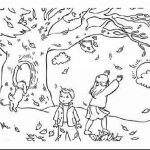 Fall Coloring Page Fall Coloring Pages For Adults Elegant Gallery Landscape Coloring