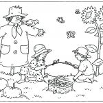 Fall Coloring Page Free Fall Coloring Pages Printable Autumn With For Me Download At