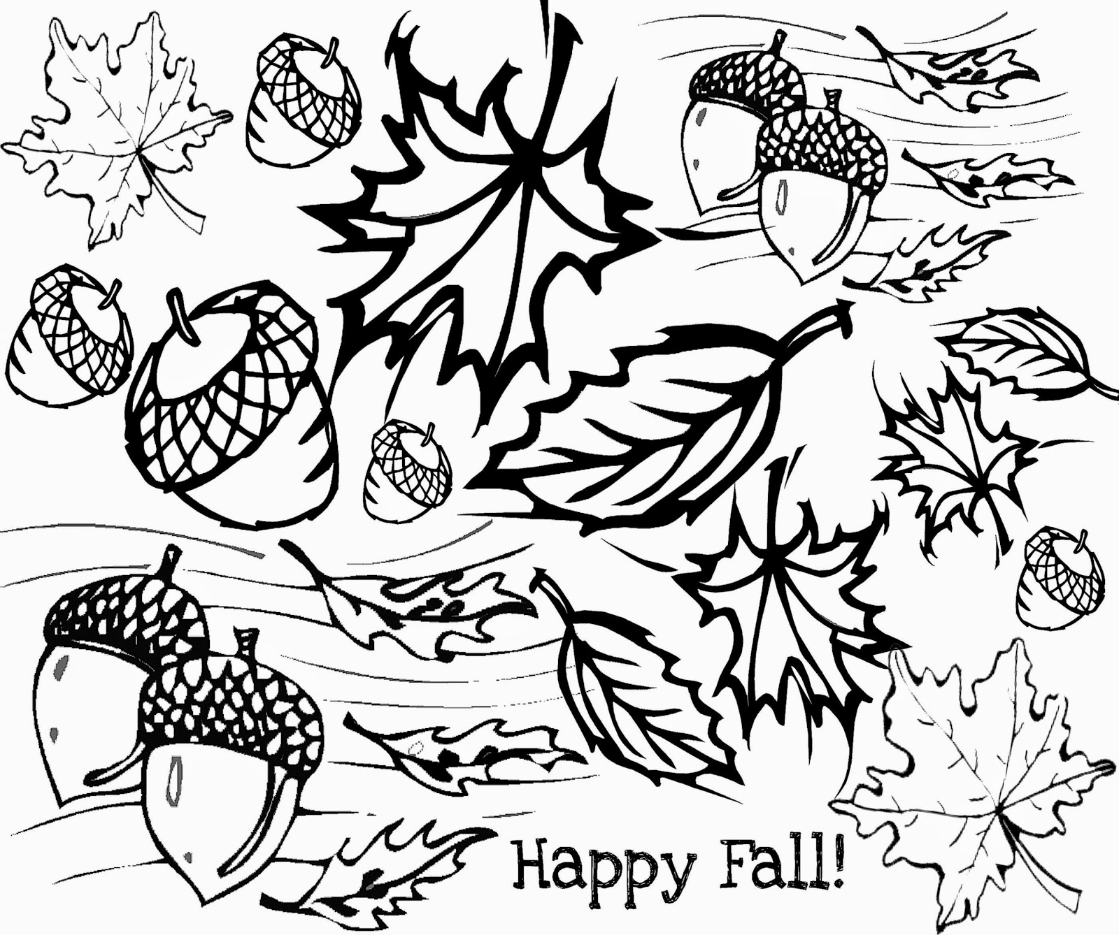 Fall Coloring Page Free Printable Fall Coloring Pages Ideas Of High Tech Pictures To