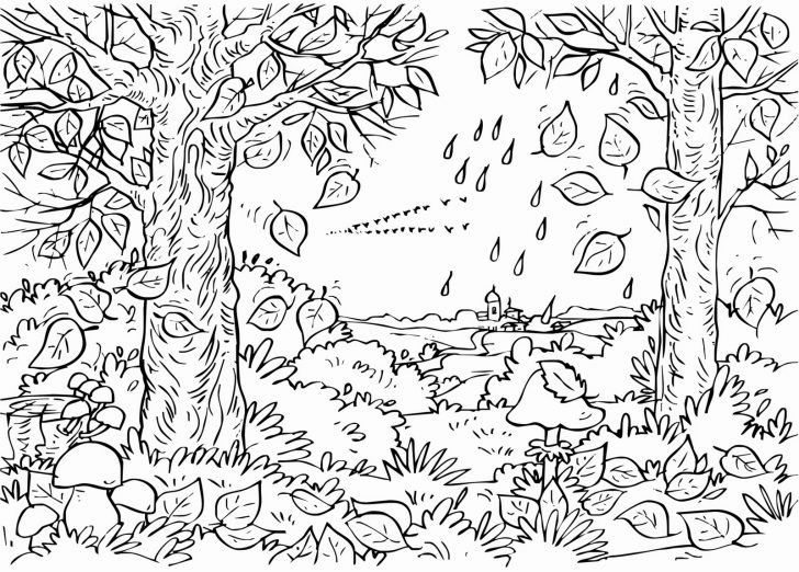 Fall Coloring Pages For Adults Fall Coloring Pages For Adults Best Coloring Pages For Kids