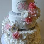Fancy Birthday Cakes Birthday Cakes Sweet 16 Cake This Is A Bit Too Fancy But I Like