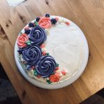 Fancy Birthday Cakes My First Fancy Birthday Cake 3 Layer Marble Cake With Milk