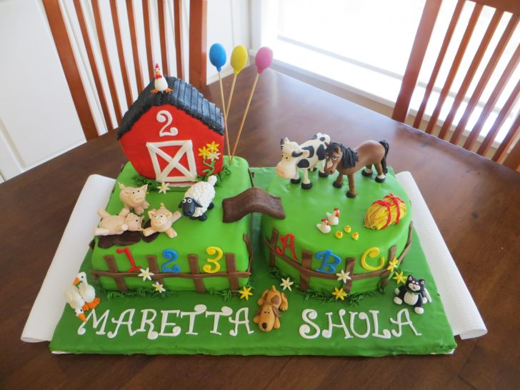 Farm Birthday Cake 8 Farm Themed Birthday Sheet Cakes Photo Farm Theme Birthday Cake