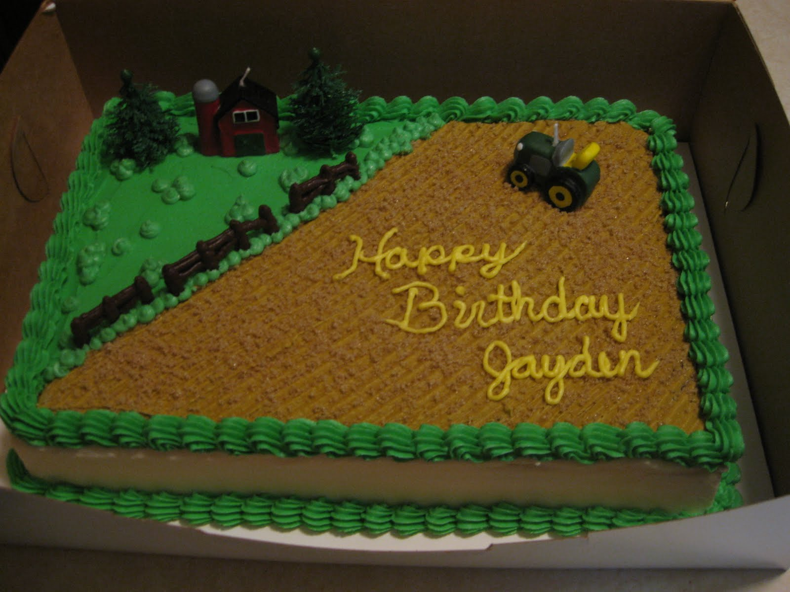 Farm Birthday Cake Cakes The Sugar Cains Farm Birthday Cake