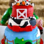 Farm Birthday Cake Farm Birthday Cake Cakecentral