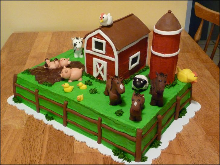 Farm Birthday Cake Farm Birthday Cake Old Mcdonald Had A Farm Cake Brents Bday