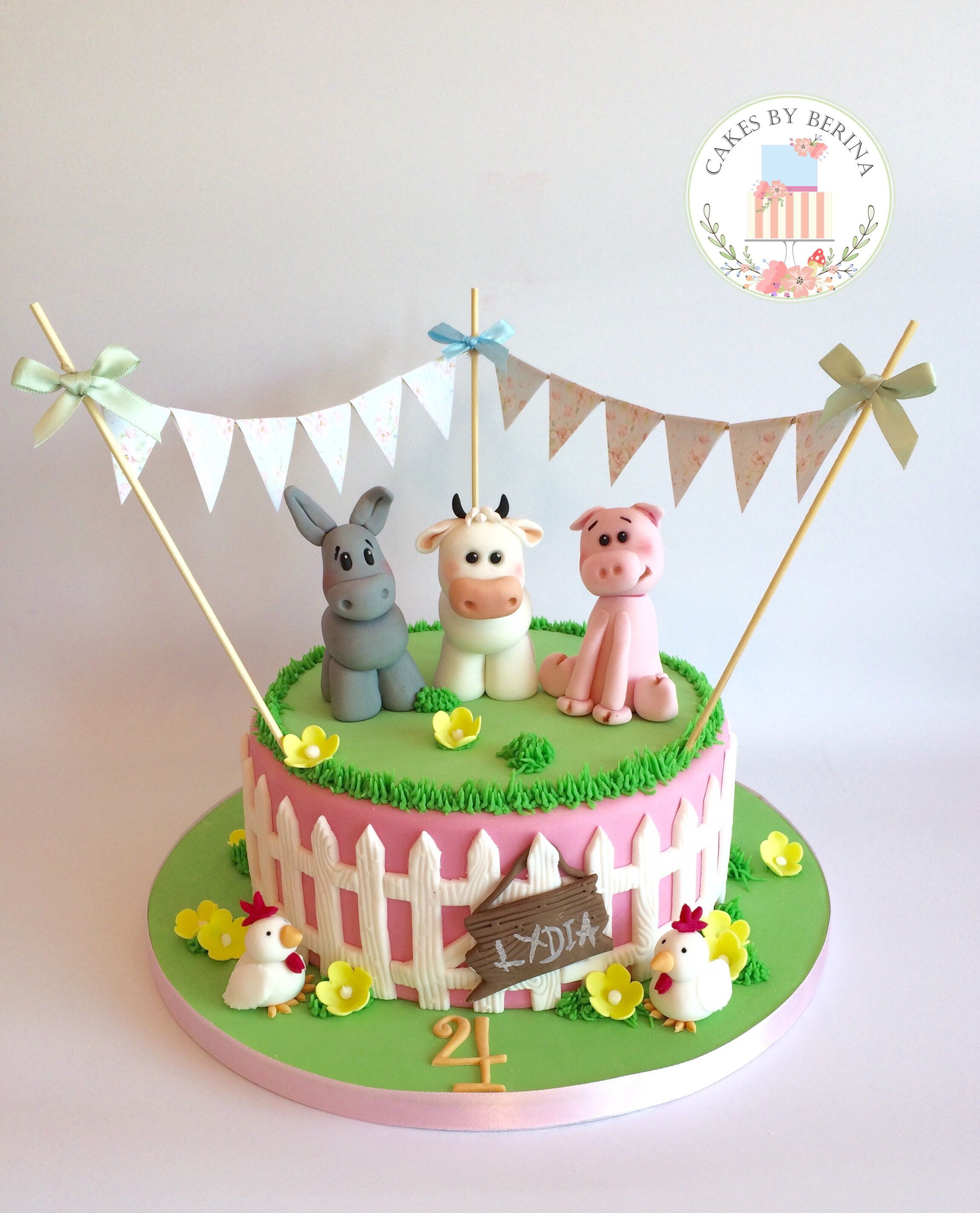 23+ Creative Picture of Farm Birthday Cake
