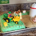 Farm Birthday Cake Reclaim Ologists And Other Crafty Chicks Farm Birthday Cake