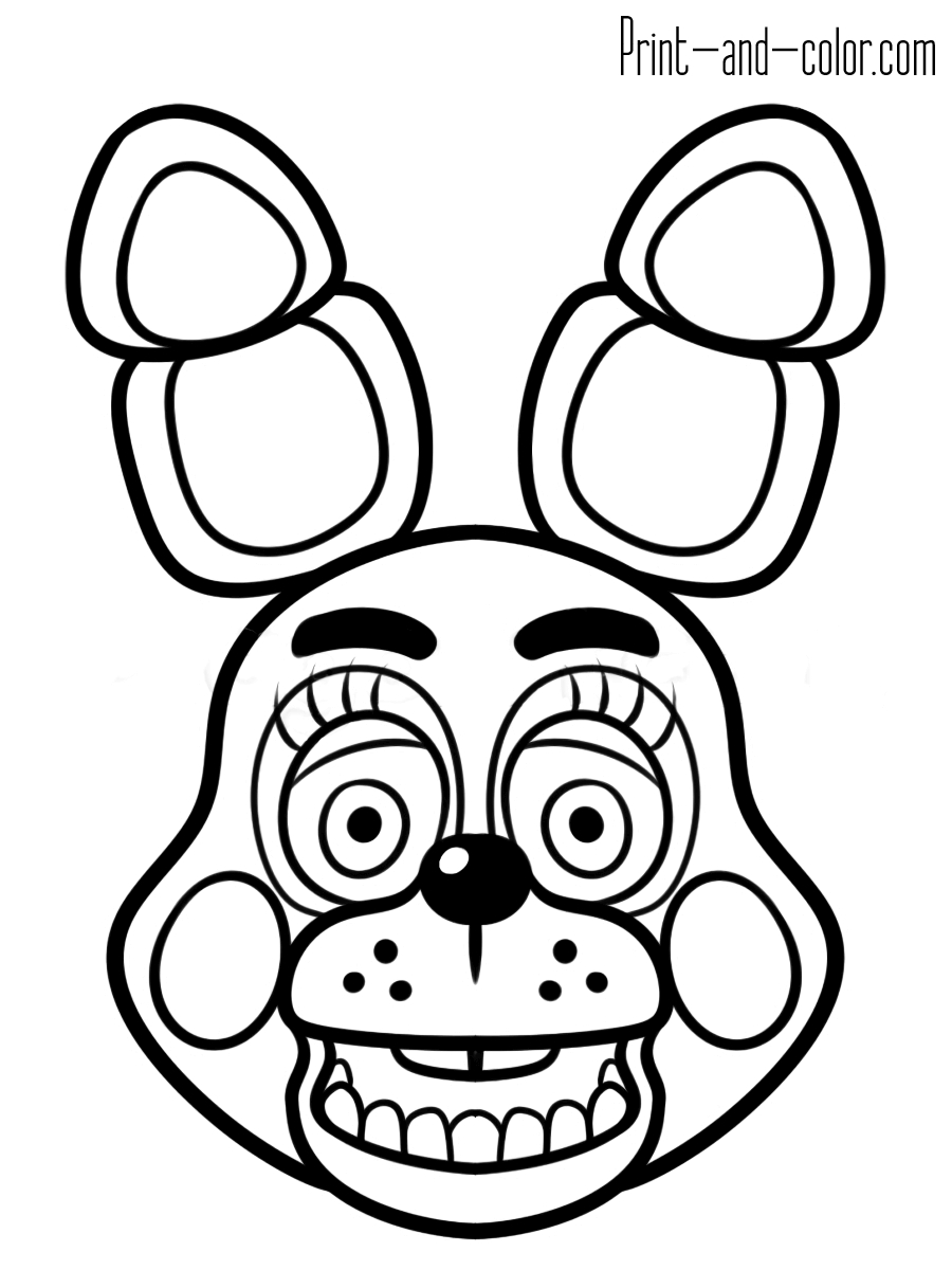 21+ Inspired Picture of Five Nights At Freddy's Coloring Pages