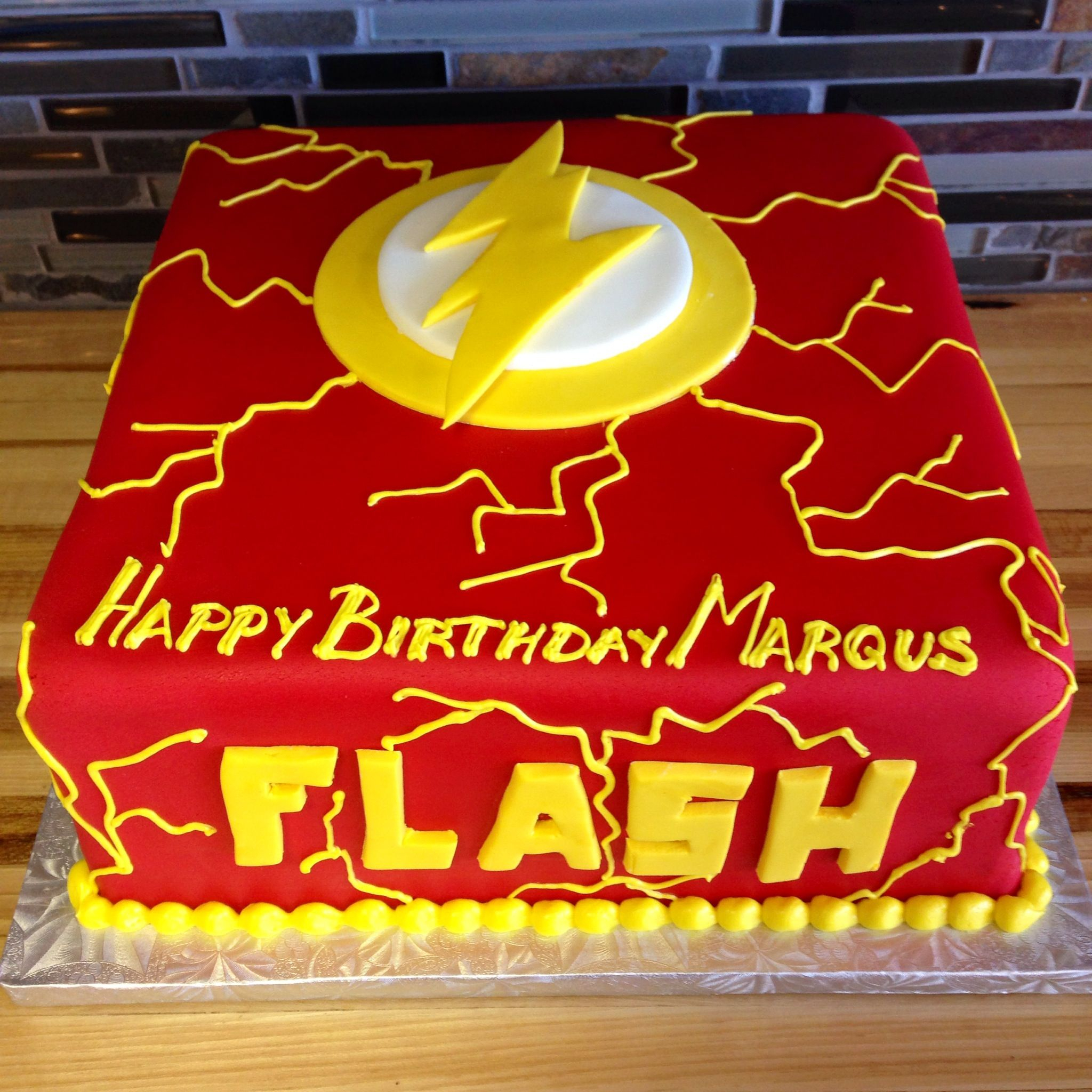 23+ Wonderful Image of Flash Birthday Cake