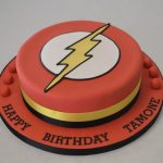 Flash Birthday Cake Flash Logo Cake Boys Birthday Cakes Celebration Cakes Cakeology