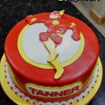 Flash Birthday Cake Flash Super Hero Birthday Cake Bsheridan1959 Flickr