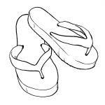 Flip Flop Coloring Pages 12 Coloring Pages Of Flip Flop Print Color Craft