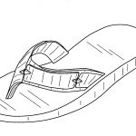 Flip Flop Coloring Pages 7 Best Images Of Free Printable Flip Flop Coloring Pages Flip