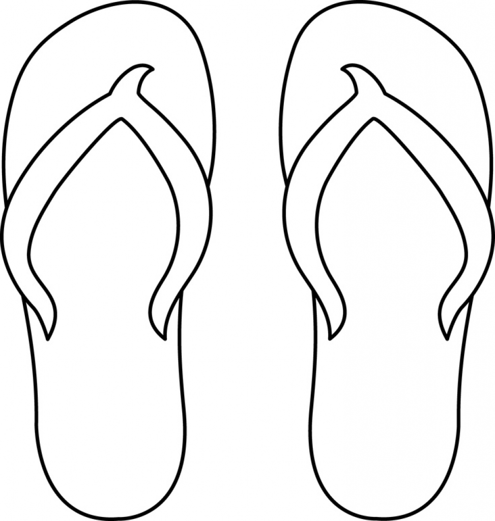 Flip Flop Coloring Pages Flip Flop Coloring Page Disney Coloring Pages