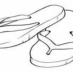 Flip Flop Coloring Pages Flip Flop Coloring Pages At Getdrawings Free For Personal Use