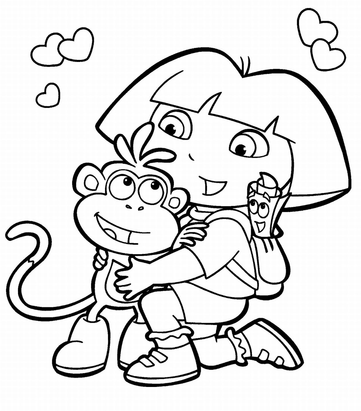 Free Printable Coloring Pages For Kids Best Free Printable Coloring Pages For Kids And Teens Pata Sauti