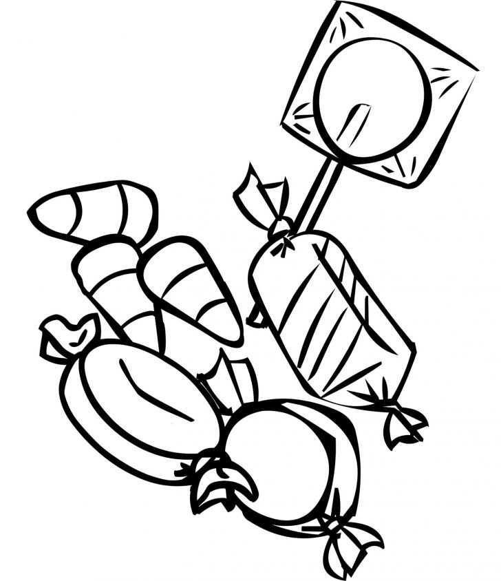 Free Printable Coloring Pages For Kids Free Printable Candy Coloring Pages For Kids
