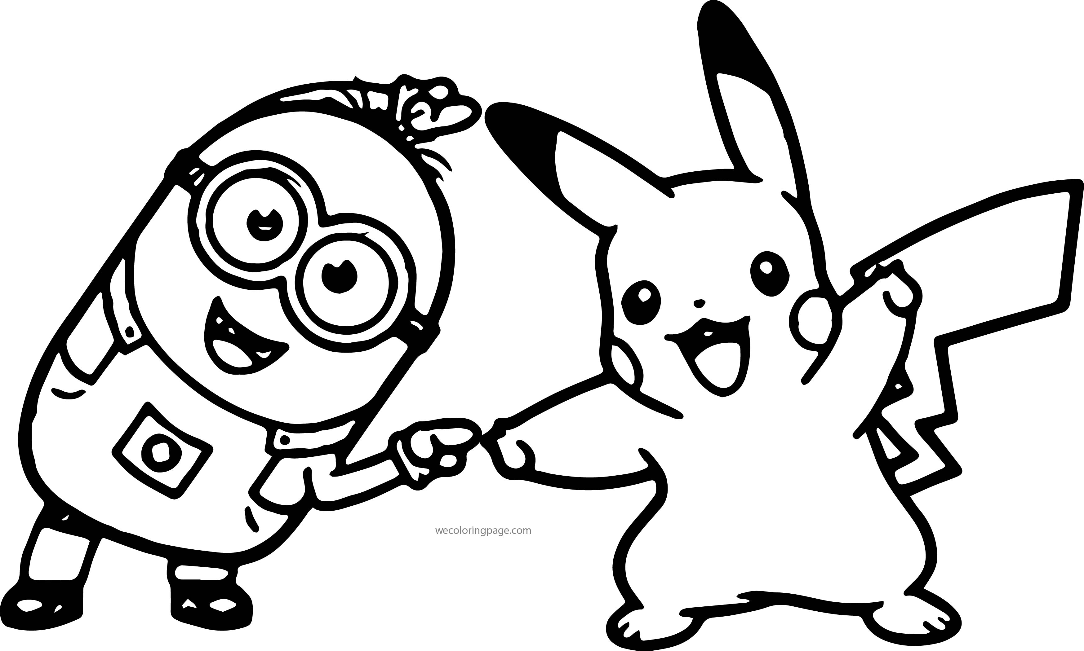 Free Printable Pokemon Coloring Pages Minion Pikachu Dance Pokemon Coloring Page Wecoloringpage