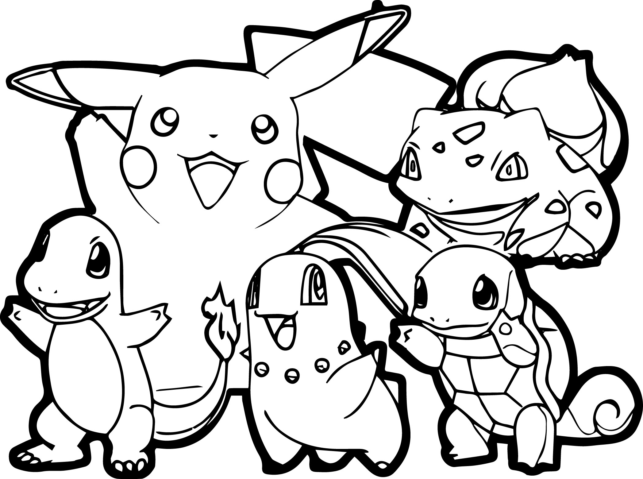27+ Inspiration Image of Free Printable Pokemon Coloring Pages