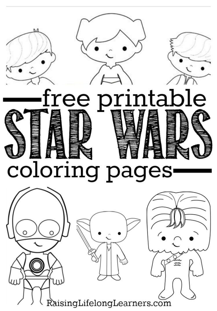 Free Star Wars Coloring Pages Free Printable Star Wars Coloring Pages For Star Wars Fans Of All Ages