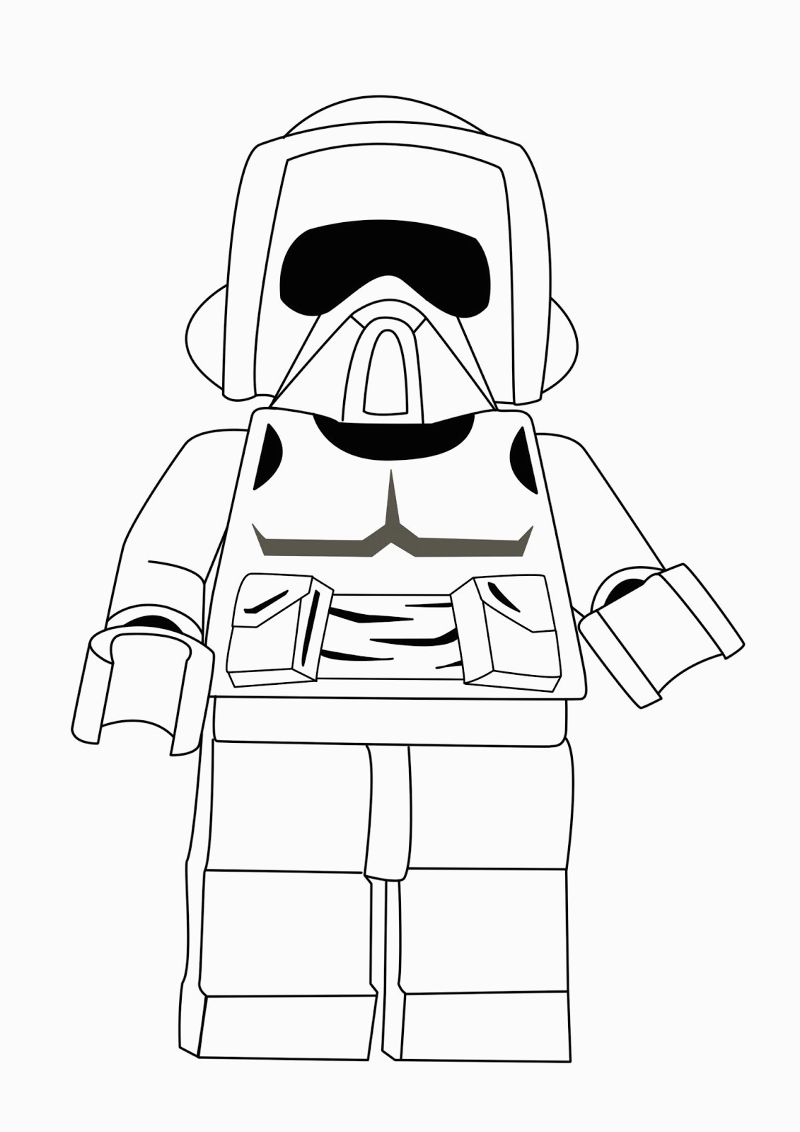 Free Star Wars Coloring Pages Lego Star Wars Coloring Pages Best Coloring Pages For Kids For Lego
