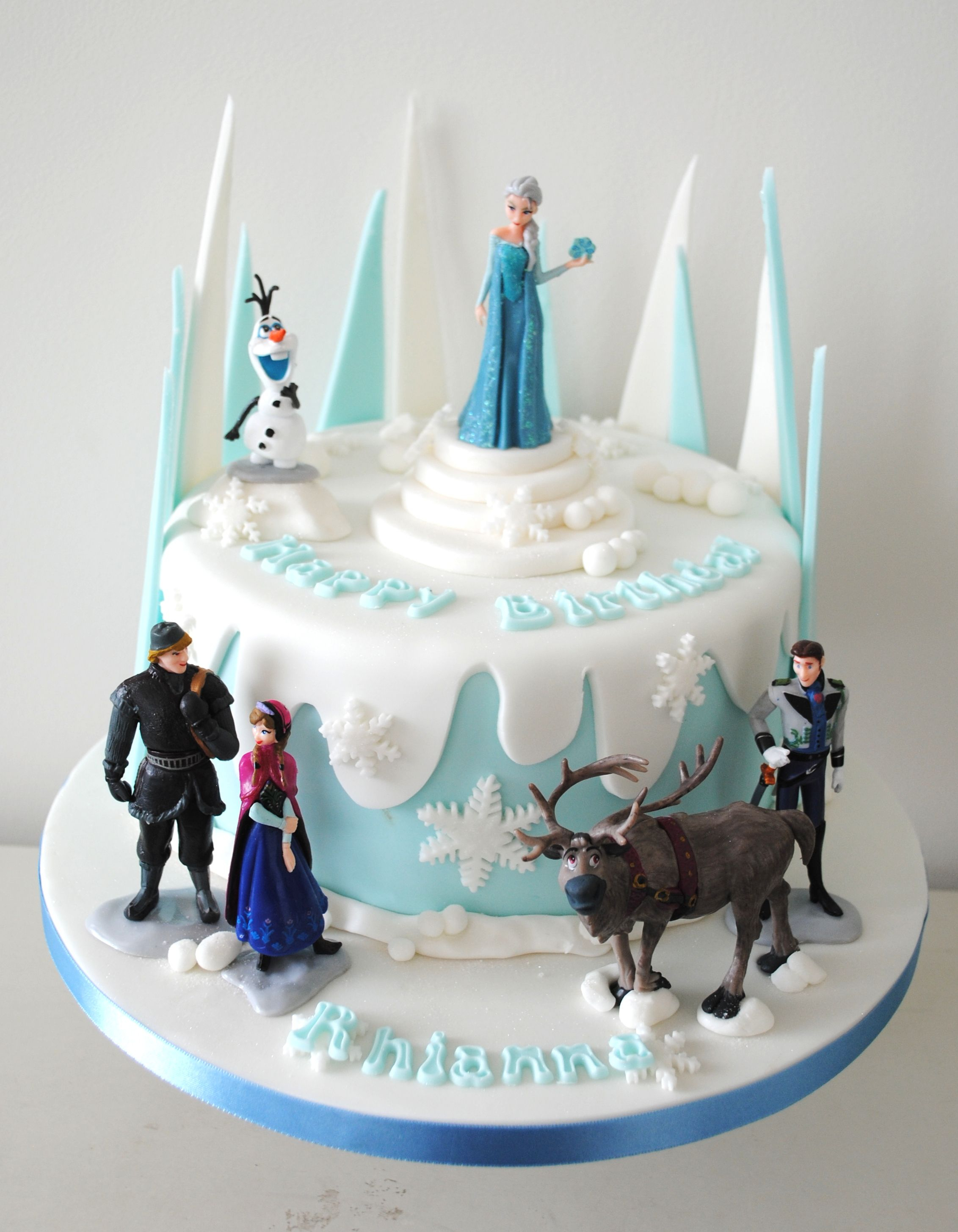 27+ Excellent Photo of Frozen Themed Birthday Cake